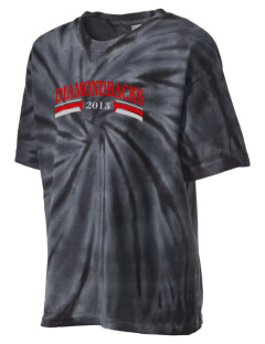 Beaver Dam High School Diamondbacks Kid's Tie-Dye T-Shirt