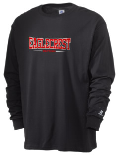 Eaglecrest High School Raptors  Russell Men's Long Sleeve T-Shirt