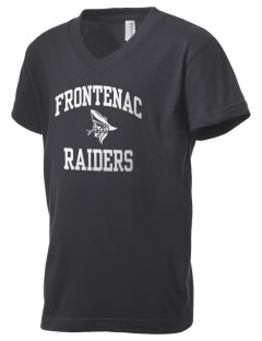 Frontenac High School Raiders Kid's V-Neck Jersey T-Shirt