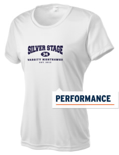 Silver Stage High School Nighthawks Women's Competitor Performance T-Shirt