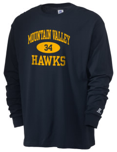 Mountain Valley Academy Hawks  Russell Men's Long Sleeve T-Shirt
