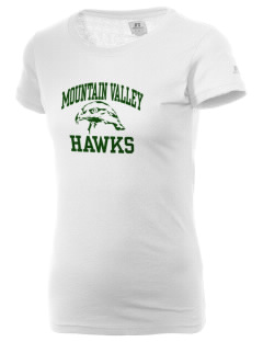 Mountain Valley Academy Hawks  Russell Women's Campus T-Shirt