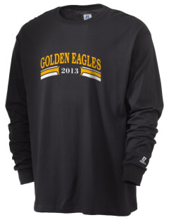 San Elijo Middle School Golden Eagles  Russell Men's Long Sleeve T-Shirt