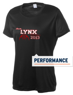 Lincoln High School Lynx Women's Competitor Performance T-Shirt