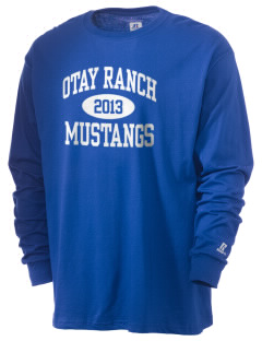 Otay Ranch High School Mustangs  Russell Men's Long Sleeve T-Shirt