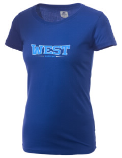 West Junior High School Warhawks  Russell Women's Campus T-Shirt