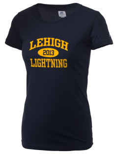 Lehigh Senior High School Lightning  Russell Women's Campus T-Shirt