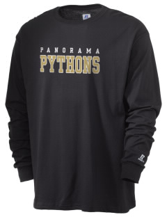 Panorama High School Python  Russell Men's Long Sleeve T-Shirt