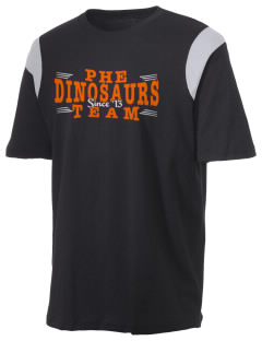 Pleasant Hill Elementary Dinosaurs Holloway Men's Rush T-Shirt
