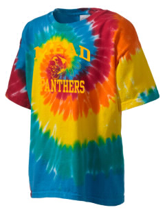 mead senior high school panthers Kid's Tie-Dye T-Shirt