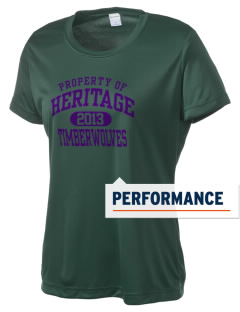 Heritage High School Timberwolves Women's Competitor Performance T-Shirt