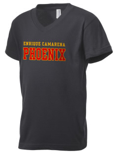 Enrique Camarena Junior High School Phoenix Kid's V-Neck Jersey T-Shirt