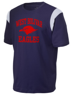 West Bolivar High School Eagles Holloway Men's Rush T-Shirt