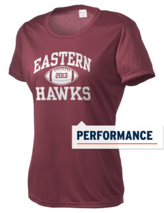 Forest Hills Eastern High School Hawks Women's Competitor Performance T-Shirt