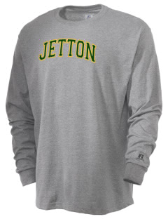 Jetton Junior High School Chargers  Russell Men's Long Sleeve T-Shirt
