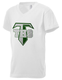 Tuscarora High School Titans Kid's V-Neck Jersey T-Shirt