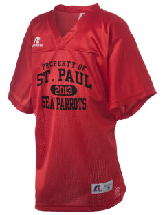 Saint Paul Island School Sea Parrots Russell Kid's Replica Football Jersey