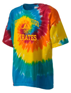 Genoa Hugo School Pirates Kid's Tie-Dye T-Shirt