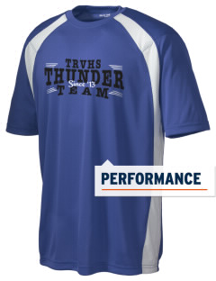 Twin River Valley High School Thunder Men's Dry Zone Colorblock T-Shirt