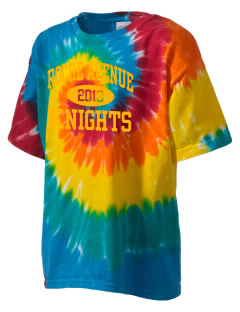 Roche Avenue School Knights Kid's Tie-Dye T-Shirt
