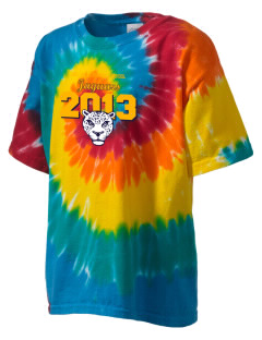 Del Vallejo Middle School Jaguars Kid's Tie-Dye T-Shirt