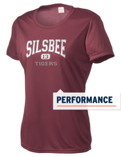 Silsbee High School Tigers Women's Competitor Performance T-Shirt