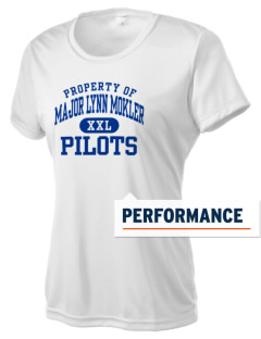 Major Lynn Mokler School Pilots Women's Competitor Performance T-Shirt