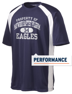 Maywood Baptist Pilgrim School Eagles Men's Dry Zone Colorblock T-Shirt