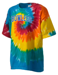 Bowlegs School Bison Kid's Tie-Dye T-Shirt