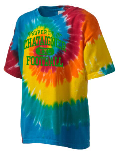 Chataignier High School Tigers Kid's Tie-Dye T-Shirt