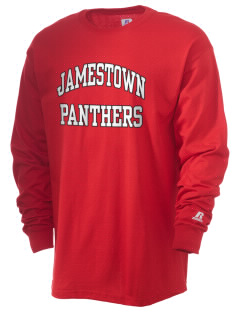 Jamestown Elementary School Panthers  Russell Men's Long Sleeve T-Shirt
