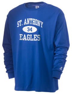 Saint Anthony School Eagles  Russell Men's Long Sleeve T-Shirt