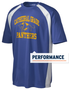 Cathedral Grade School Panthers Men's Dry Zone Colorblock T-Shirt