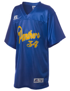 Cathedral Grade School Panthers Russell Kid's Replica Football Jersey