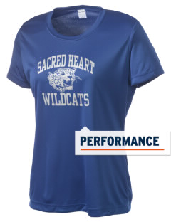 Sacred Heart School Wildcats Women's Competitor Performance T-Shirt