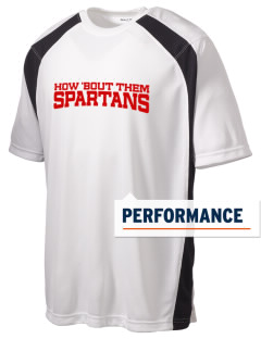 Saint Anne's School Spartans Men's Dry Zone Colorblock T-Shirt