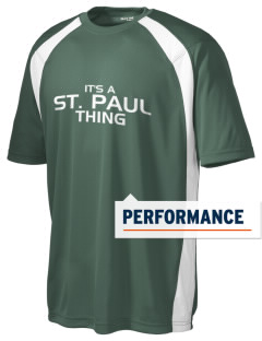 Saint Paul School Lions Men's Dry Zone Colorblock T-Shirt