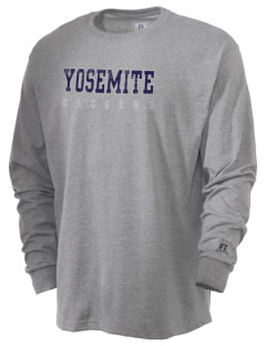 Yosemite High School Badgers  Russell Men's Long Sleeve T-Shirt