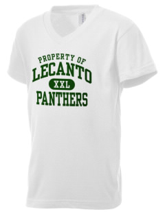 Lecanto High School Panthers Kid's V-Neck Jersey T-Shirt