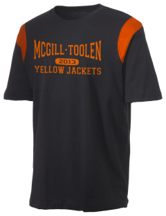 McGill-Toolen Catholic High School Yellow Jackets Holloway Men's Rush T-Shirt