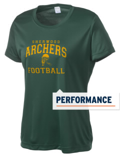 Sherwood Elementary School Archers Women's Competitor Performance T-Shirt