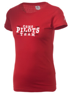 Cardinal Spellman High School Pilots  Russell Women's Campus T-Shirt