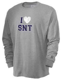 St. Nicholas of Tolentine High School Wildcats  Russell Men's Long Sleeve T-Shirt