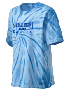 Manteca Christian School Eagles Kid's Tie-Dye T-Shirt