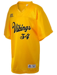 St. Laurence High School Vikings Russell Kid's Replica Football Jersey