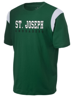 St. Joseph School Crusaders Holloway Men's Rush T-Shirt