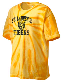 Saint Laurence School Tigers Kid's Tie-Dye T-Shirt