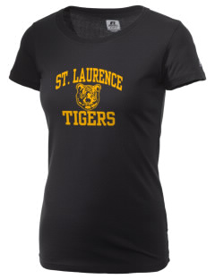 Saint Laurence School Tigers  Russell Women's Campus T-Shirt