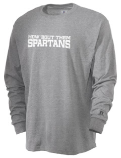 Saint Philip Neri School Spartans  Russell Men's Long Sleeve T-Shirt