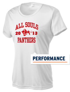 All Souls School Panthers Women's Competitor Performance T-Shirt